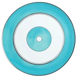 Raynaud Cristobal Turquoise Round Flat Cake Plate 31cm