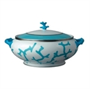Raynaud Cristobal Turquoise Soup Tureen
