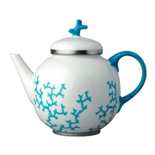Raynaud Cristobal Turquoise Tea Pot