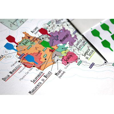 De longs wine map of italy bookshelf edition wine educationwine de longs wine map of italy bookshelf edition gumiabroncs Image collections