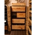 Wine Bottle Collection Rack - Burgundy Bottles