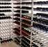 Big Metal Wine Rack Fully Assembled - 15 Bottle