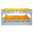 Fries Glass Washer Tray 16 Glasses 230mm High - 500 x 500mm