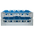Fries Glass Washer Tray 25 Glasses 170mm High - 500 x 500mm