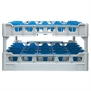 Fries Glass Washer Tray 25 Glasses 230mm High - 500 x 500mm