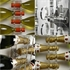 Acrylic and Stainless Steel Wine Spine 12 Bottle Wall Mounted Wine Rack