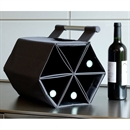 ZEbag 6 Bottle Wine Rack / Wine Bottle Bag & Carrier