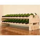 Modularack Wooden Wine Rack 20 Bottle - Natural Pine