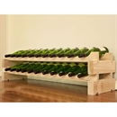 Modularack Wooden Wine Rack 22 Bottle - Natural Pine
