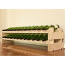 Modularack Wooden Wine Rack 24 Bottle - Natural Pine