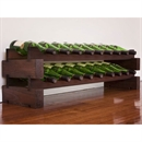 Modularack Wooden Wine Rack 20 Bottle - Dark Stain