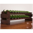 Modularack Wooden Wine Rack 22 Bottle - Dark Stain
