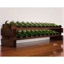 Modularack Wooden Wine Rack 24 Bottle - Dark Stain