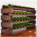 Modularack Wooden Wine Rack 36 Bottle - Dark Stain