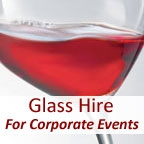 View more glass hire from our Glass Hire for Corporate Events range