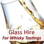 View more glass hire for corporate events from our Glass Hire for Whisky Tastings range