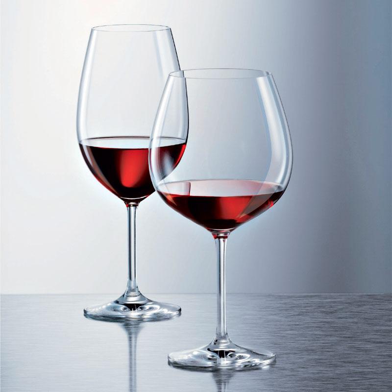 schott zwiesel ivento burgundy glass set of 6 glassware. Black Bedroom Furniture Sets. Home Design Ideas