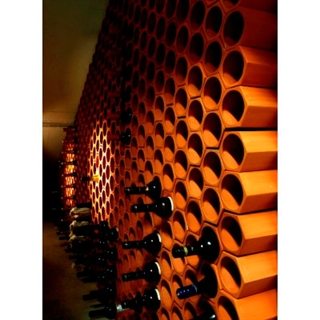 Terracotta Wine Rack - 30 Bottles