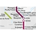 De Long's Metro Wine Map of France - Wine Regions