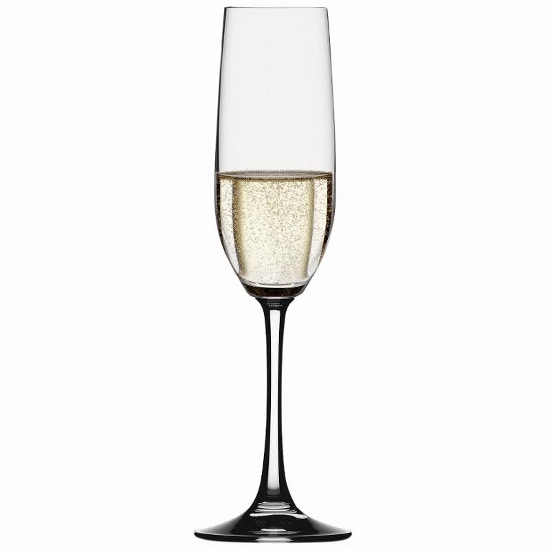 Spiegelau vino grande champagne glasses flute set of 6 - Spiegelau champagne flute ...