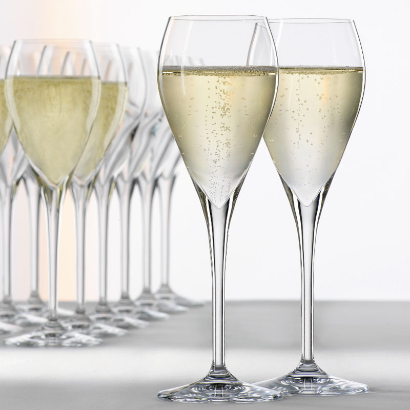 Spiegelau Party Champagne Glasses / Tulip - Set of 6, Glassware; UK Glassware Suppliers ...