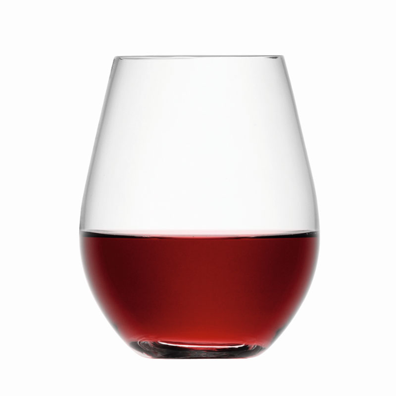 lsa stemless red wine glass tumblers set of 4 glassware uk glassware suppliers www. Black Bedroom Furniture Sets. Home Design Ideas