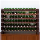 Modularack Wooden Wine Rack 72 Bottle - Dark Stain 6H x 12W