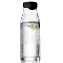 Menu 1 Litre Water Carafe with Black Lid