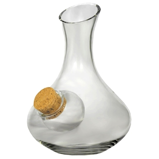 Ice Pocket White Wine Decanter - With Cork 1L