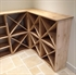 Pine Wooden Wine Rack - Cellar Cubes - 96 Bottles - 223mm Deep - Set of 4