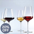 View our collection of Sensa Schott Zwiesel Tritan Crystal Glass
