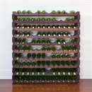 Modularack Wooden Wine Rack 120 Bottle - Dark Stain 10H x 12W