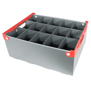 Wine Glass Storage Box - 15 Cell - 190mm High
