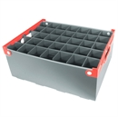 Wine Glass Storage Box - 35 Cell - 190mm High