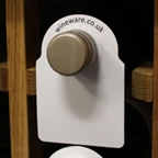 View more wineware's wine storage temperature guide from our Wine Bottle Neck Tags range