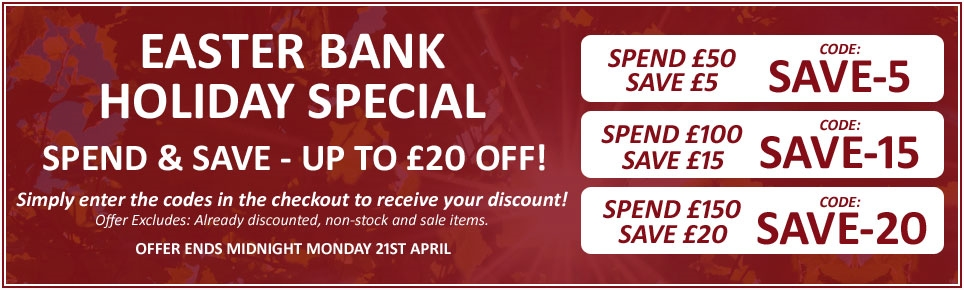 Easter Bank Holiday Special