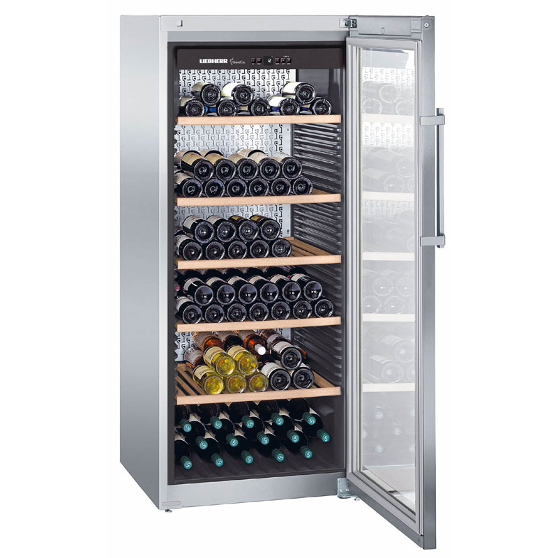 liebherr grandcru single temperature wine cabinet wkes. Black Bedroom Furniture Sets. Home Design Ideas