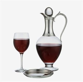 J A Campbell Chalice Claret Jug / Wine Decanter