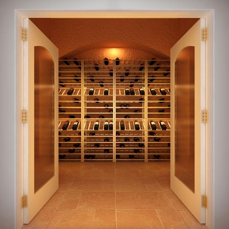 Big Metal Wine Rack Self Assembly 60 Bottle Wineware Co Uk
