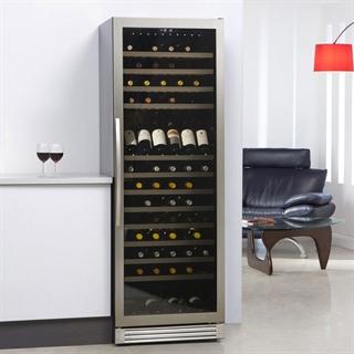 Caple Wine Cabinet - Single Temperature Freestanding - Stainless Steel WF1544