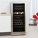 Caple Wine Cabinet - 2 Temperature Freestanding - Stainless Steel WF1104
