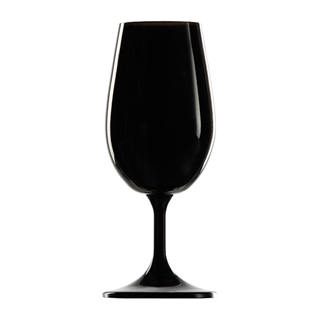 ISO Type Black Wine Tasting Glasses 21.5cl - Set of 6 (Blind Wine Tastings)