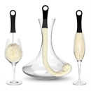 3 Piece Wine Decanter and Wine Glass Cleaning Brushes