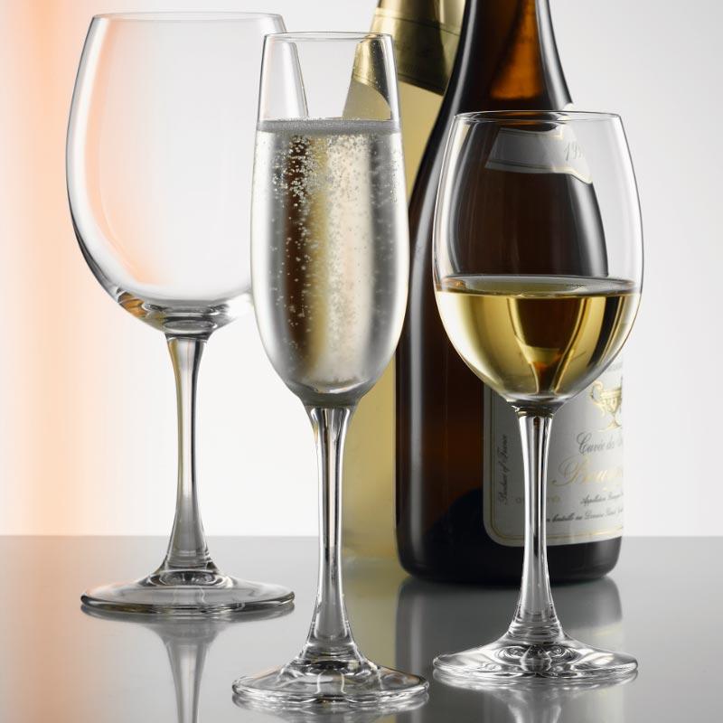 Spiegelau Soiree Champagne Glasses / Flute - Set of 6, Glassware; UK Glassware Suppliers ...