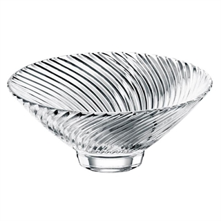 Nachtmann Samba - Large Footed Bowl / Crisp Dish