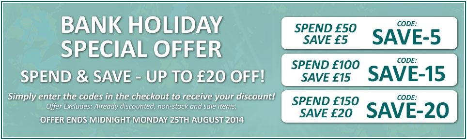 August Bank Holiday Special