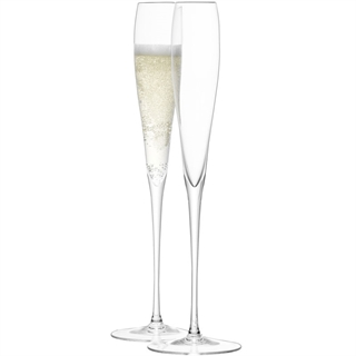 LSA International Wine Grand Champagne Glasses / Flutes - Set of 2