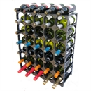 CellarStak 35 / 36 Bottle Plastic Wine Rack - Black