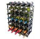 CellarStak 35 / 36 Bottle Plastic Wine Rack - Black