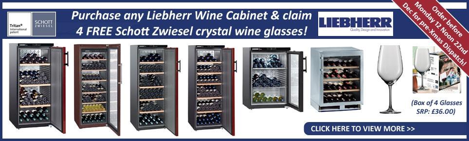 Liebherr FREE Glasses Offer
